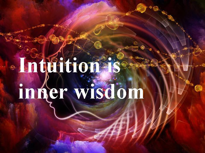 Intuition is inner